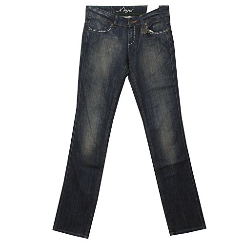 MOGUL, Alissa Stretch Denim, Damenjeans, Stretch Denim, darkblue Used, W 28 L 34 [16019]