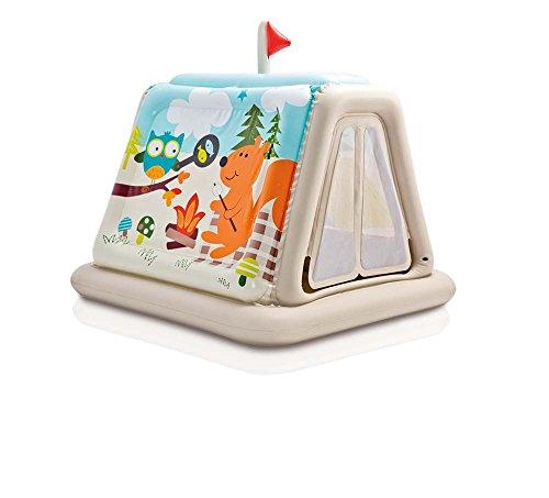 Intex - Tienda de campaña con animales para niños de 3 a 6 años (48634NP)