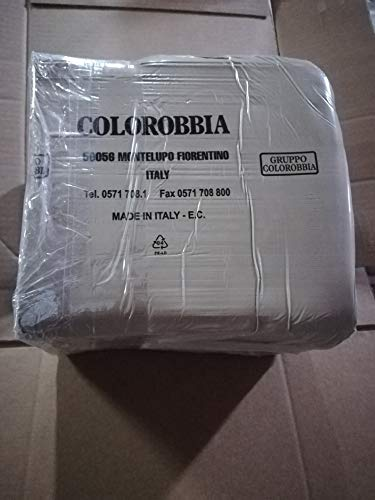 Argilla modellabile creta Bianca blocco Colorobbia maiolica terraglia da modellare panetto da 12,5 kg per terracotta e ceramica (1PZ)