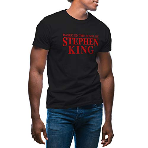 Based on The Novel by Stephen King T-Shirt Noir pour Homme Size M