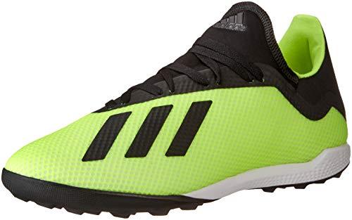 adidas X Tango 18.3 Tf, Scarpe da Calcio Uomo, Giallo (Amasol/Negbás/Ftwbla 001), 44 EU
