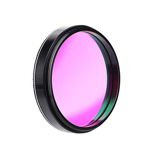 Topiky Filtro UHC para telescopio, Lente de reducción de contaminación lumínica de Contraste Ultra Alto de 2 ln con Rosca estándar M45 * 075 mm, para Ocular telescópico