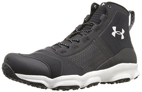 Under Armour Men's Speedfit Hike Mid Boot, Black (005)/Smoke, 10