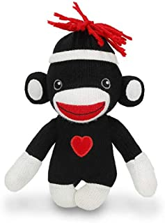 pink sock monkey hat