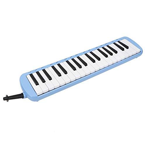 mit sauberem Stoff ABS Melodica, mit Aufbewahrungstasche für und Erwachsene Anfänger(blue)