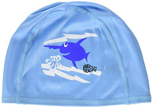 Beco Beermann GmbH & Co. KG Kinder Sealife Textilhauben Kappe, blau, One Size