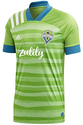 adidas Seattle Sounders FC Green 2020 Forever Green Replica Jersey (Large)