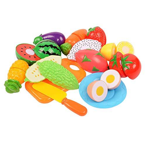 Lecimo en Plastique Cuisine Fruits LéGumes Couper Enfants Simulation Jeu ÉDucatif Jouet SéCurité Enfants Cuisine Jouets Ensembles, 5#