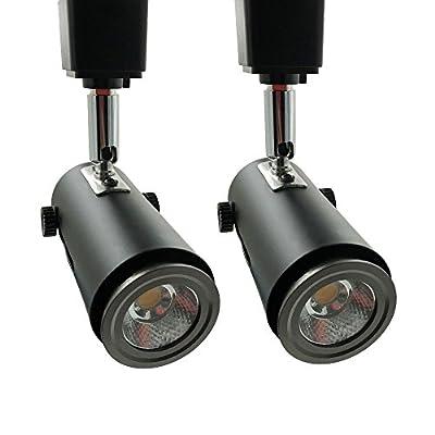 H System e26 Line Voltage Track Lighting Heads Fixture compatible H type 3-wire single circuit track systems,For PAR20, R20, PAR30, BR30, BR40, PAR38 light bulbs