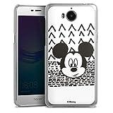 Coque Compatible avec Huawei Y5 (2017) Étui Housse Disney Mickey Produit sous Licence Officielle