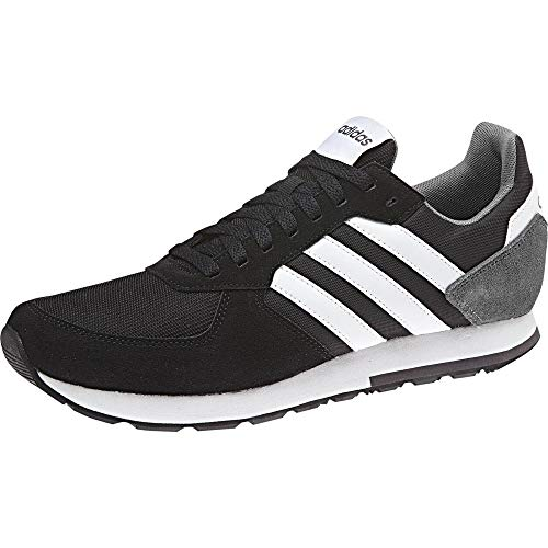 Adidas 8k, Zapatillas para Hombre, Negro (Core Black/FTWR White/Grey Five Core Black/FTWR White/Grey Five), 42 EU
