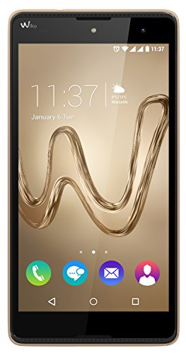 Wiko Robby Smartphone entsperrt H + (Display: 5Zoll–16GB–Dual SIM–Android) Gold