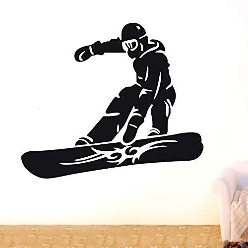 50x43 cm, wandbild, Snowboarder Skifahren Sport Kunstwerk Schlafzimmer Haushalt Poster Tapeten Geschenk Bild Bild Home Painting Sticker Abstrakt Bad Paste Abstrakt