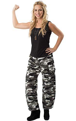 ORION COSTUMES Damen Tarnhose Armee Mädchen Uniform Maskenkostüm