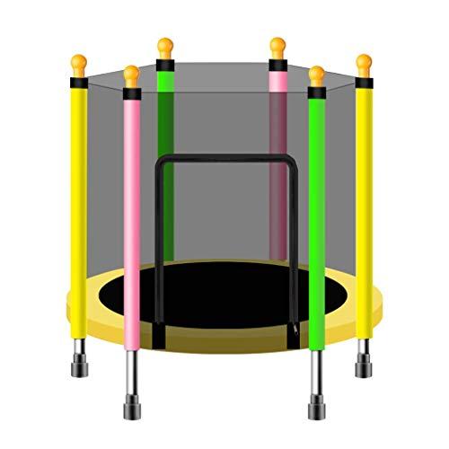 JY&WIN Mini Dispositivo de Entrenamiento de trampolín para Saltar en casa, en la Oficina, en el Gimnasio, en el jardín, 110 cm / 140 cm, condición física y Rebote aeróbico, Peso máximo 200 kg