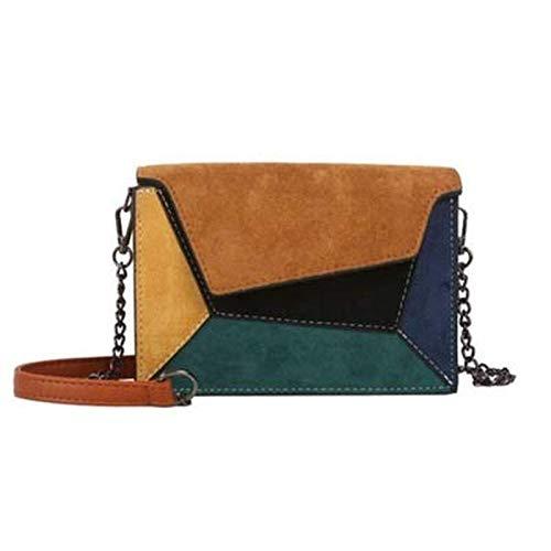 Damestassen, schoudertassen, gespleten handtassen in kleur zijn geschikt voor werk, reizen en het dagelijks leven