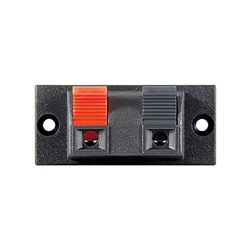 Wentronic LK 02schwarz, rot Aderverbinder–Verbinder Fäden (schwarz, rot)