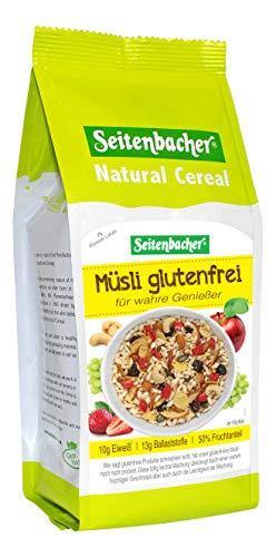 Seitenbacher Müsli Glutenfrei, 2er Pack (2 x 375 g Packung)