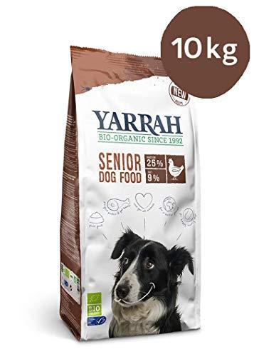 Yarrah Bio Croquettes Senior pour Chien 10 kg