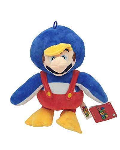 Whitehouse Leisure International Ltd. Super Mario Bros - Peluche Mario Bros con Disfraz de Pinguino 29cm...
