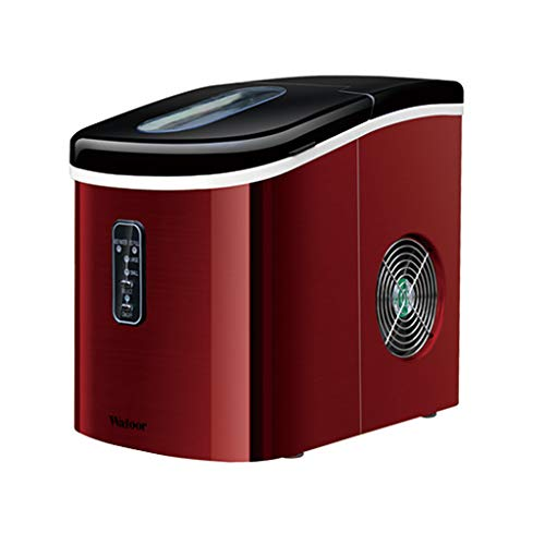 Best Prices! WHJ@ Ice Machine 16kg Mini Small Commercial Household Tea Shop Bar Automatic Round Ice ...