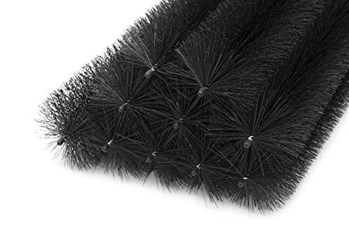 Lot de 35 brosses pour gouttière 35 m 100 cm Ø 10 cm Protection Contre Les Feuilles et Les martres