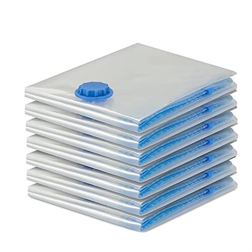 SONG 7 PCS Bolsas de vacío para la Bolsa de Ropa Organizador de Almacenamiento Transparente Bolsas de Ahorro de Espacio Grande. (Color : 40x60cm)