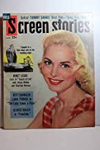 Screen Stories Magazine, March 1958, TOUCH of EVIL Janet Leigh, on Cover Articles: the LADY TAKES a FLYER, Jeff Chandler, Lana Turner; FLOODTIDE, George Nader; SING, BOY, SING Tommy Sands