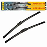 EANTAC 18' + 18' Premium All Season Beam Windshield Wiper Blades (Pack of 2)