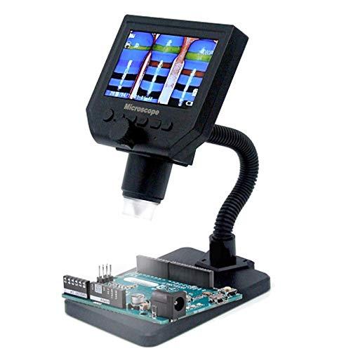 YASE-king G600 600X 3.6MP 8LED Portable LCD Digital Microscope 4.3' Electronic HD Video Microscopes Endoscope Magnifier Camera Drop Ship