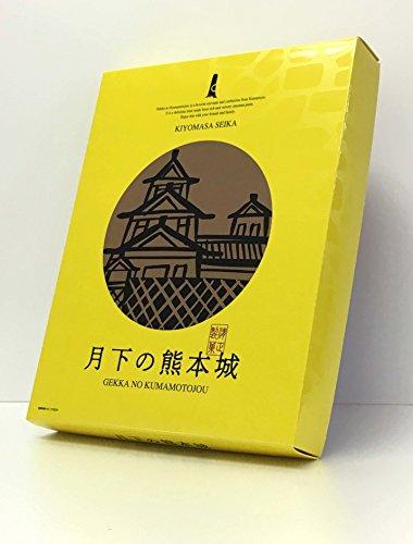 新 月下の熊本城 30個入×1箱 清正製菓 ミルクで仕上げた栗あんをしっとり焼き上げた生地で包み込んだ熊本銘菓