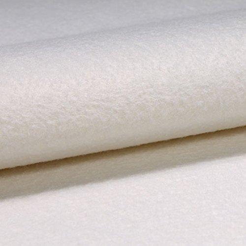 Meterware Tischschoner weiß 100 cm Tischdeckenunterlage rutschfest wasserfest