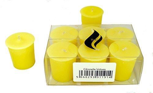 6 x Citronella Votive Candles