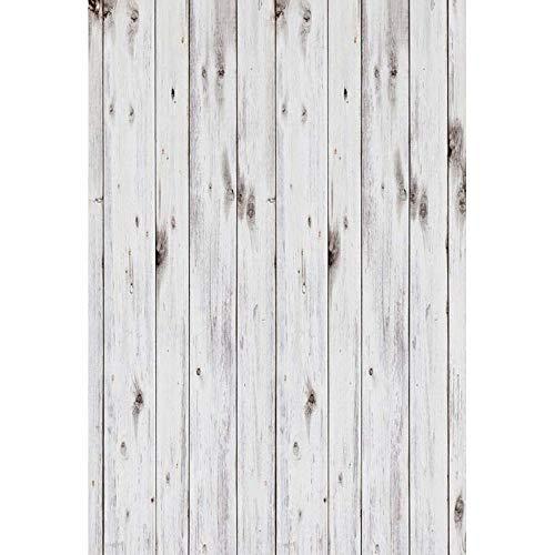 Fondo de vinilo fino para fotografía de fondo de madera impresa por ordenador para recién nacidos para fotografías de estudio (20 x 10 cm)