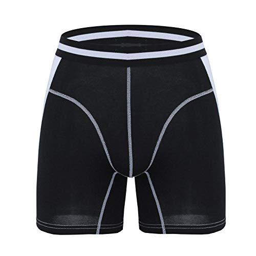 3 stuks herenboxershorts lange boxershort mannen merk mannelijk broekje model mannen onderbroek Homme Slip Style A