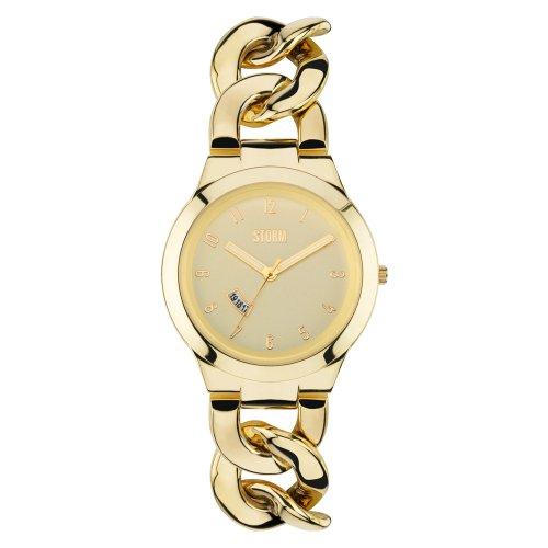 Storm Damen-Armbanduhr 47215/GD Edelstahl Gold