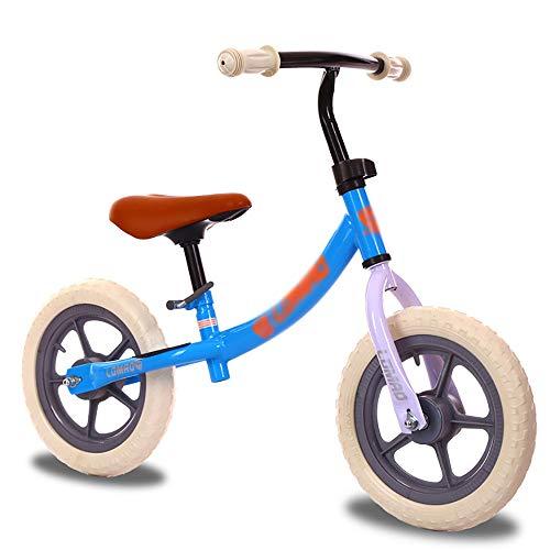 GJQDDP Balance Bike, Bicicletta Senza Pedali Bici per Bambini Senza Pedali Scooter per Bambini a Due Ruote Scooter 1-6 Anni 60x88 cm, 4,5 kg