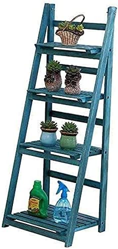 NFRMJMR Stand Rack Special sale excellence item Modern Multi-tier Wooden Plant Folding