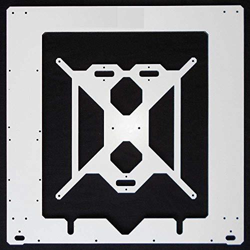 L-Yune,bolt Impresora 3D 1pc Marco de Aluminio Dibond Juego de Estructura Individual de 6 mm de Aluminio Composit melamina for Prusa