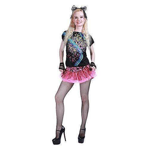 FantastCostumes Women 80's Pop Star Party Halloween Costume