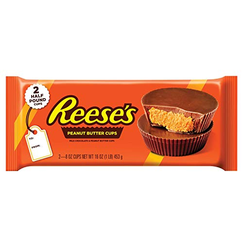 Reese's Milk Cups Candy Easter Gift Lb. Pack, Peanut Butter and Chocolate, 16 Ounce from Hershey's