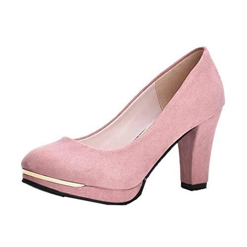Scarpe da Donna con Tacco Alto e Tacco Alto con Plateau, Festa di Nozze, Scarpe Eleganti in Pelle Scamosciata di Moda Sexy