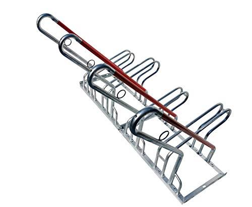 4er Fahrradständer Reihenparker Anlehnparker Anlehnbügel B-Ware mit Diebstahlsicherung