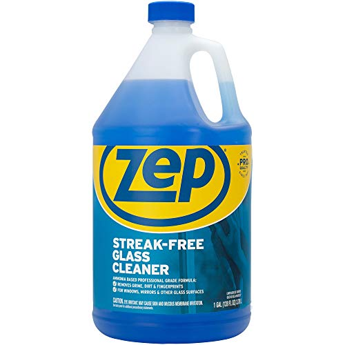 Zep ZU1120128 Glass Cleaner, Blue