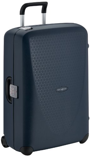 Samsonite Termo Young Upright L Suitcase Luggage, 75 cm, 88 Litre, Blue (Dark Blue)