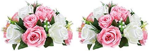 Centros de mesa con flores artificiales _image2