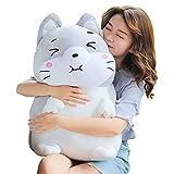 Meow Wang Stuffed Animal Dog Plush Toy Cute Anime Body Soft Pillow Doll,Kawaii Plush Toy Birthday Gifts for Boys Girls or Girlfriend