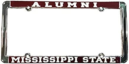 Automotive Advertising Associates, Inc. Mississippi State University License Plate Frame - Alumni