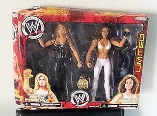 WWE Wrestling Exclusive Action Figure Diva Beth Phoenix Vs. Maria by Jakks Pacific