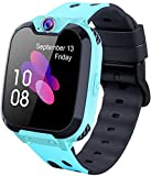 Kids Smart Watch for Boys Girls - HD Touch Screen Sports Smartwatch Phone with Call Camera Games Recorder Alarm Music Player for Children Teen Students(blue)